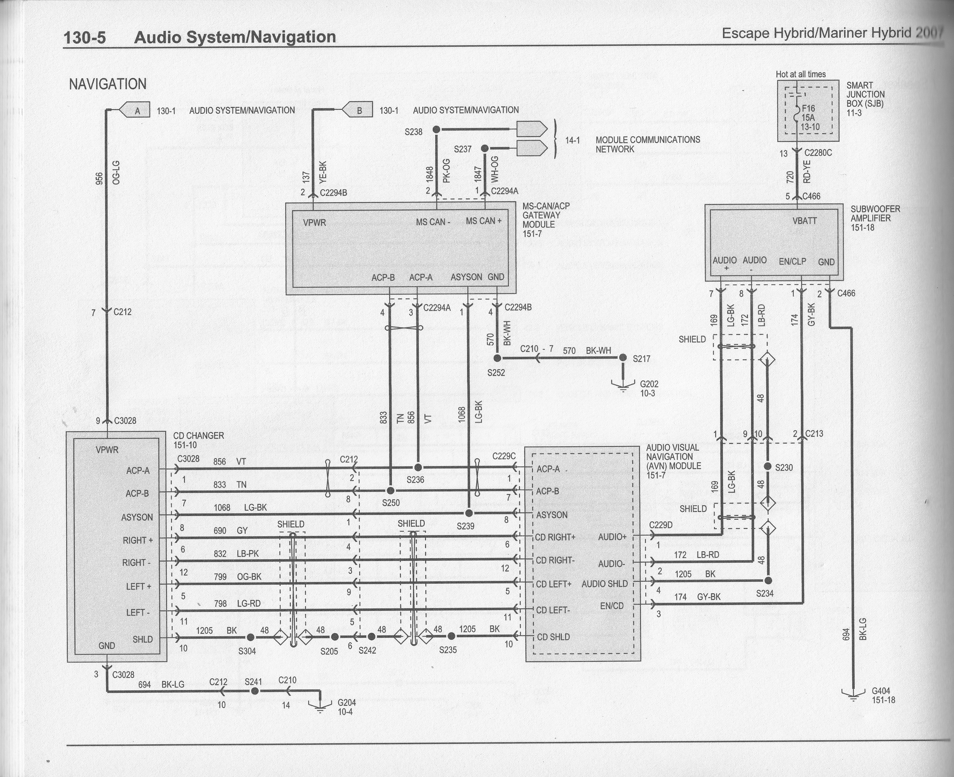 ford stereo wiring diagrams f87f 19b132 ab list of wiring Ford Escape Wiring Schematic