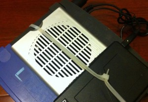 Fan in router