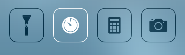 Control Center Apps