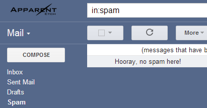 Hooray, no spam here!