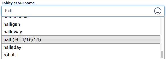Surname metadata